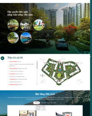Mẫu giao diện website bất động sản 003
