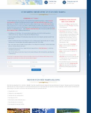 Mẫu giao diện website bất động sản 005